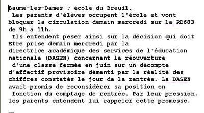école du Breuil